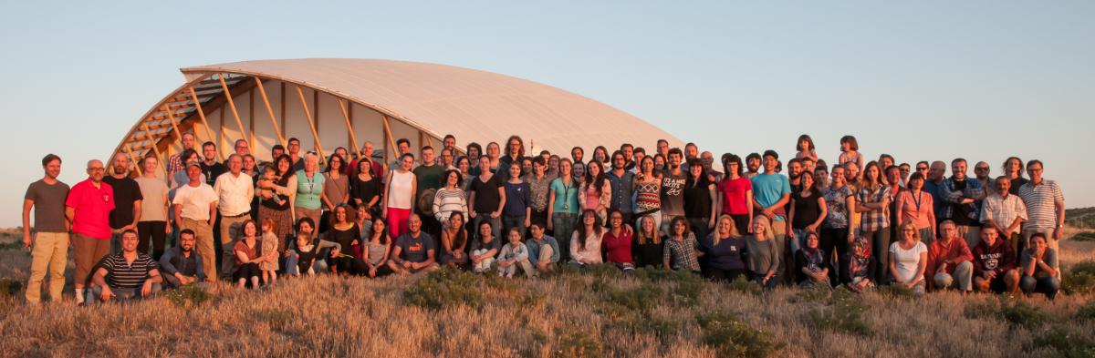 The Ҫatalhöyük Research Project team in 2015. Photo by Jason Quinlan.